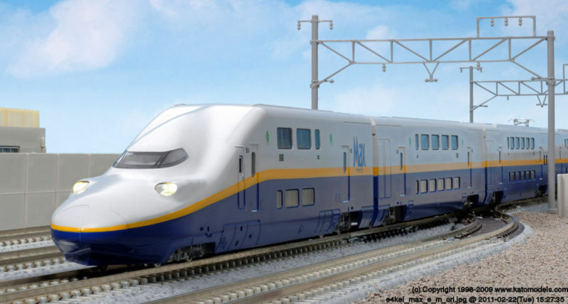 Kato  N  E4 Shinkansen  Max  Japón Bullet Train Set E4