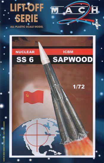 Mach 2 1 72 SS-6 Sapwood Nuclear ICBM L015