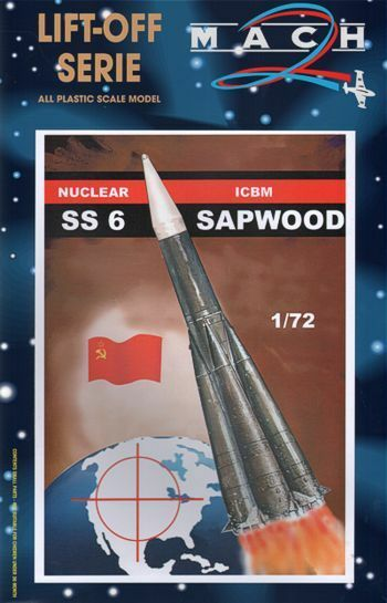 MACH 2 1 72 Ss-6 sapwood NUCLEARE ICBM  L015