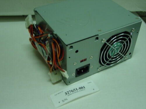45-66Hz 5 DC outp 110-240VAC input 327651-001 Compaq Switching power supply