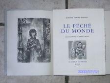 Livre ancien MAXENCE VAN DER MEERSCH LE PECHE DU MONDE ANDRE COLLOT 1949 RARE