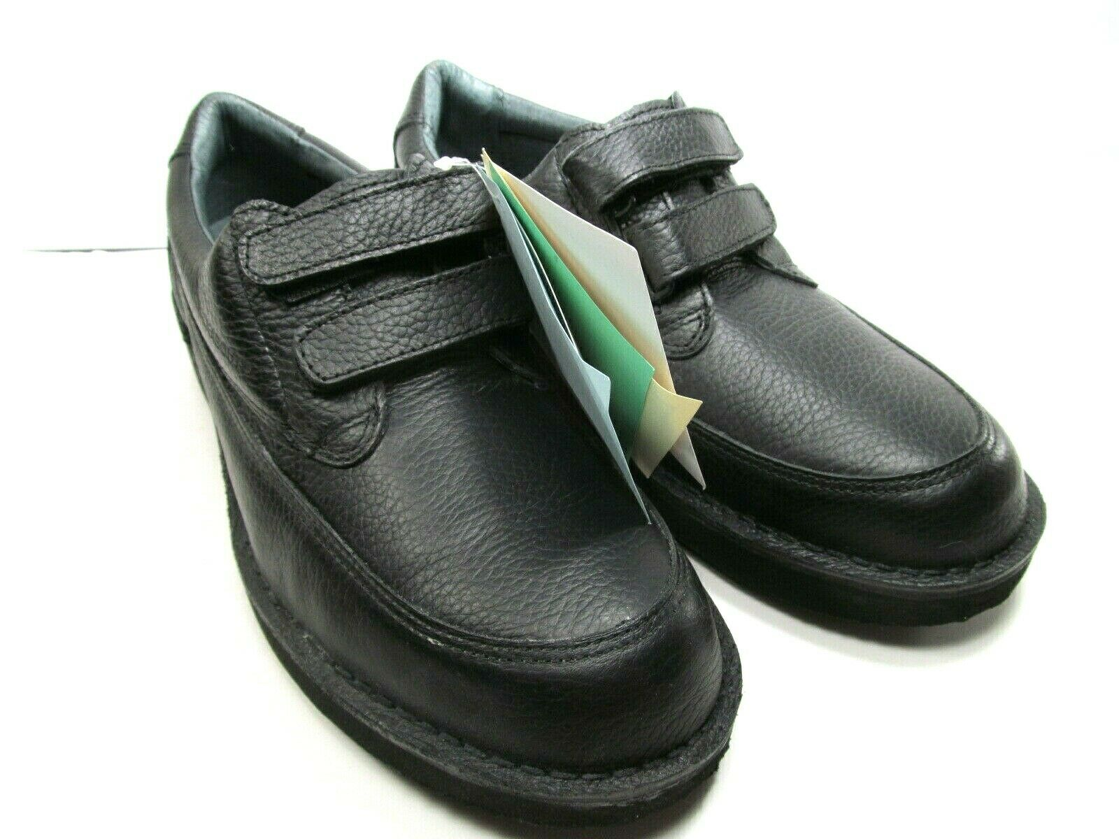 Footonic 2 Walkabout Eva-Tec Semelles Hommes Noir Cuir Chaussures Confort Taille US 10 E