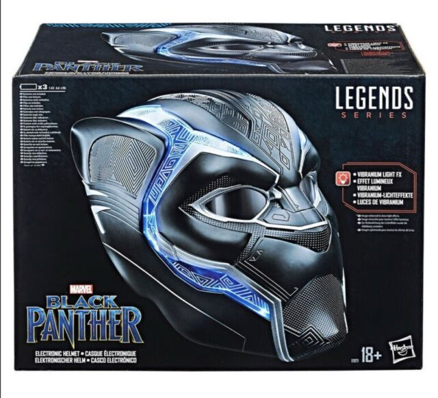 Hasbro Marvel Legends Series Black Panther 1:1 Elektronischer Helm (E1971)