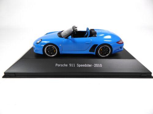 Set of 2 Porsche 911 Speedster 1:43 Atlas Diecast Model Car LP1