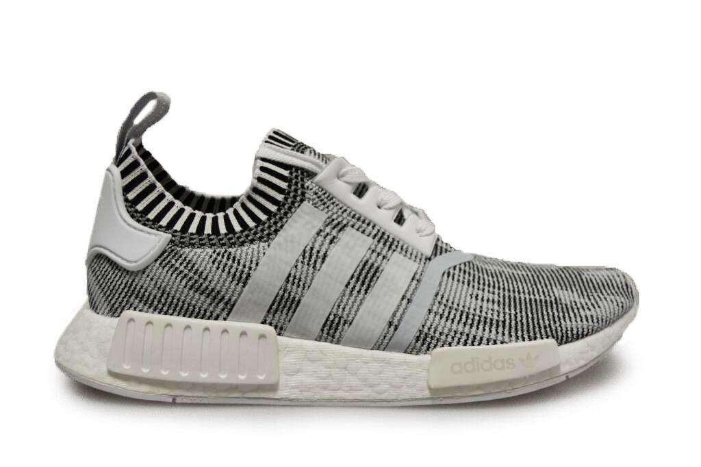 Herren Adidas NMD_R1 Packung - by1911 - weiß grau schwarze Turnschuhe