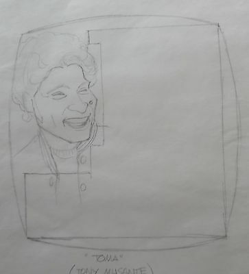 Pencil Drawing Tony Musante Actor Toma Oz Nino Schibetta Akd110 Art Hot Sale Al Kilgore Orig