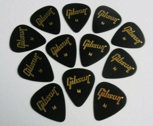 Gibson Plektren Standard Medium 12er Set Gitarren Plektrum Pick Plek