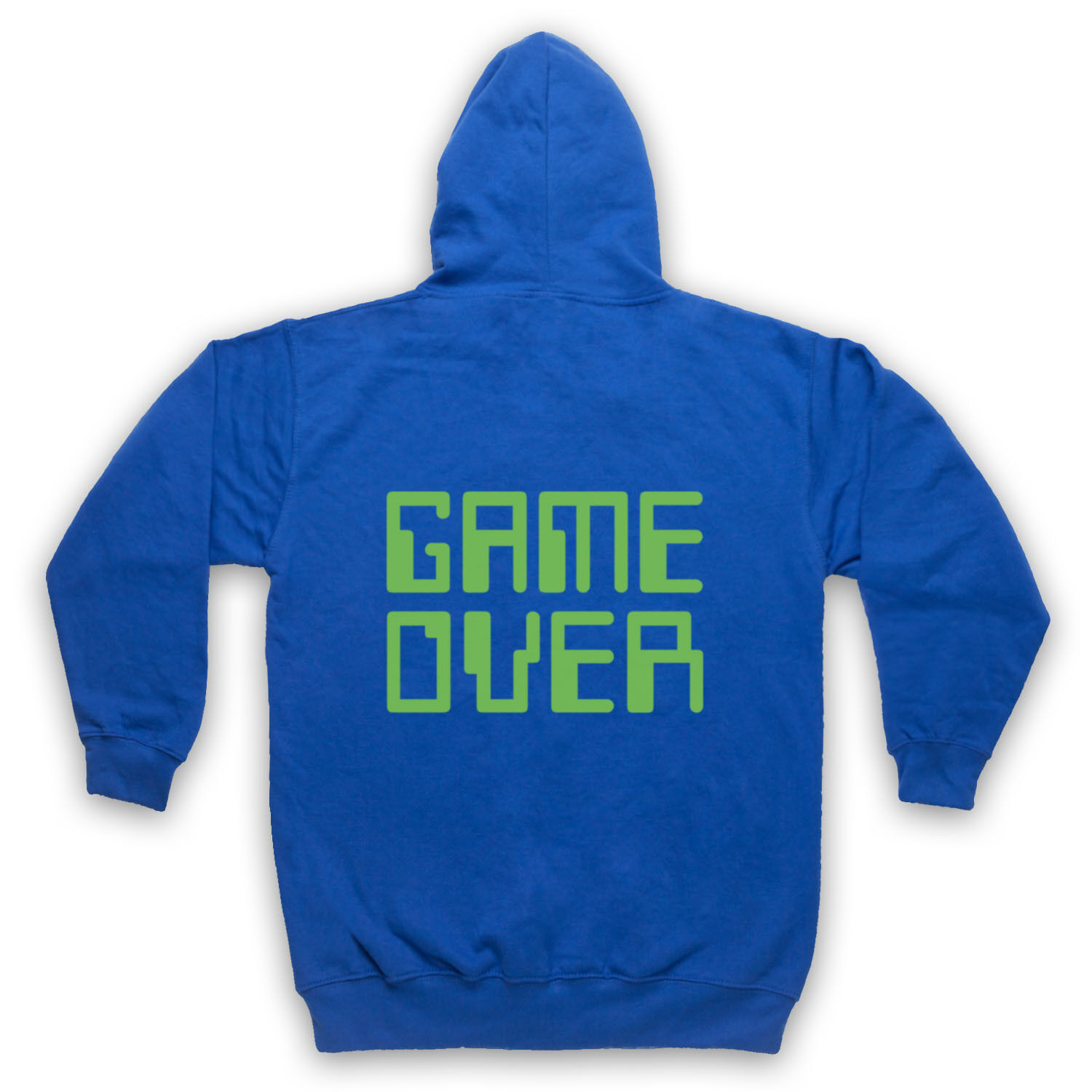 GAME OVER HIPSTER RETRO SLOGAN COMPUTER END LIFE GEEK ADULTS ADULTS ADULTS KIDS HOODIE 85a4ec