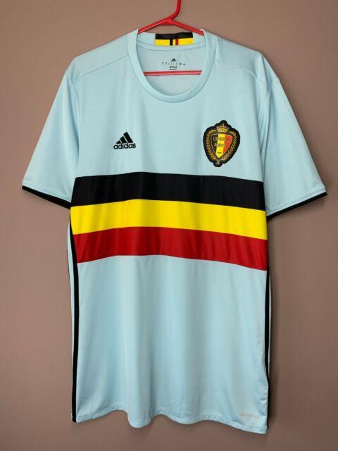 Belgium 2016-2017 Away Football Shirt Soccer Jersey Trikot Camiseta size L
