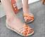 Women-039-s-Summer-Open-Toe-Jelly-Flat-Sandals-Beach-Rainbow-Color-2018-Shoes-Sandal thumbnail 7