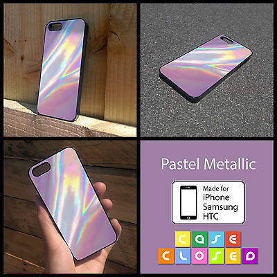 PASTEL METALLIC TUMBLR GIFT For iPhone Samsung HTC Hard/Rubber Case Cover
