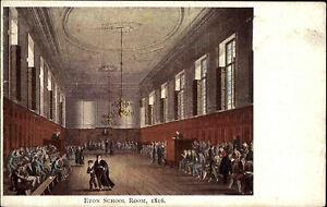 Eton-Berkshire-England-1910-College-School-Room-Schule-Raum-Kuenstlerkarte-AK