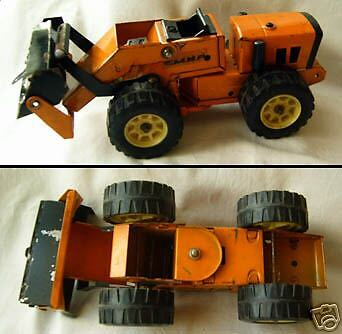 Old Tin Toy voiture modèle Road DOZER Ripper URSS 1973