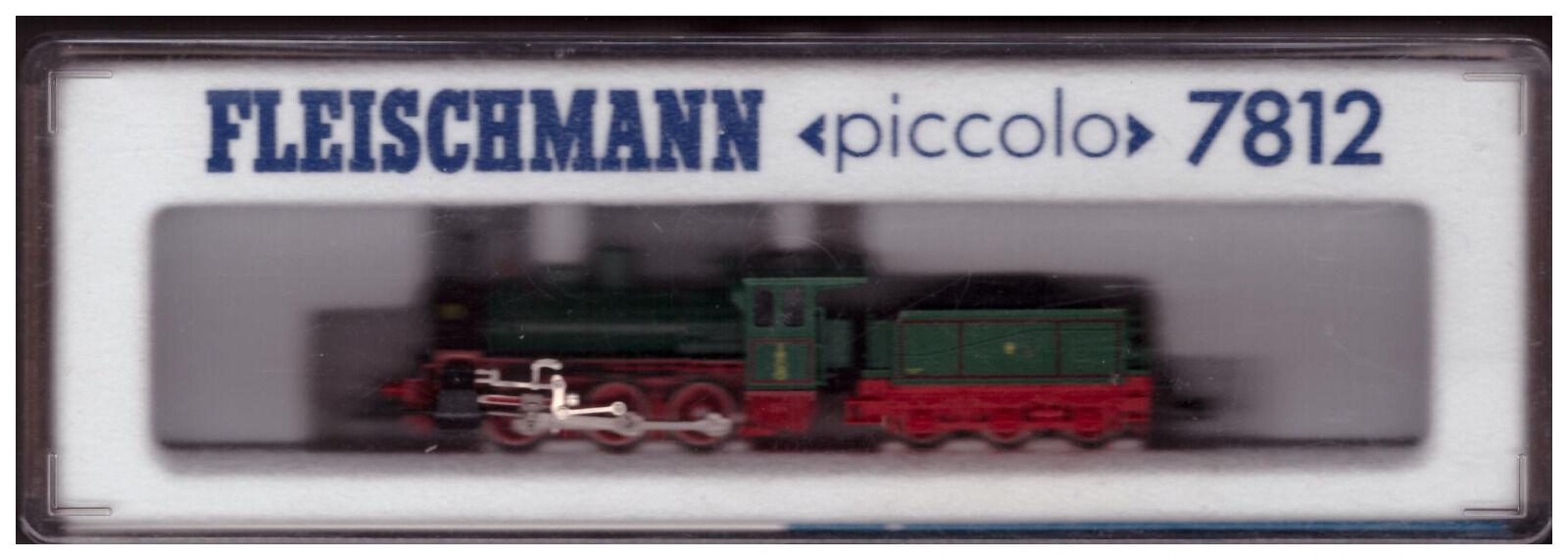 Fleischmann 7812: STILO Tenderlok, verde/nero, 'Il paese messaggero' 3915 Danzica