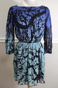 Diane-Von-Furstenberg-Pialla-Chiffon-Printed-Dress-Size-2-DR100