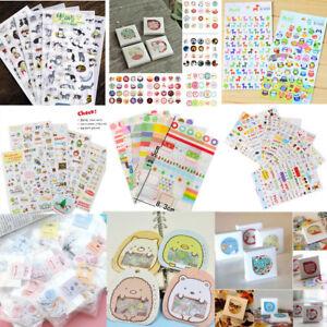 DIY Calendar Scrapbook Album Diary Book Decor Paper Planner Sticker Craft JP