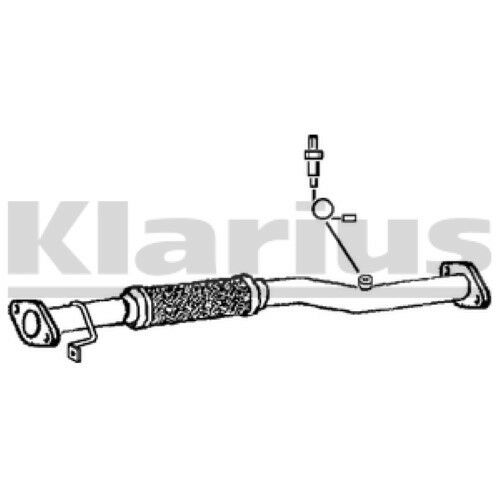 1x KLARIUS OE Quality Replacement Exhaust Pipe Exhaust For HYUNDAI Petrol