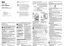 thumbnail 8 - MUJI Mechanical cuckoo Wall or put clock White Japan light sensor