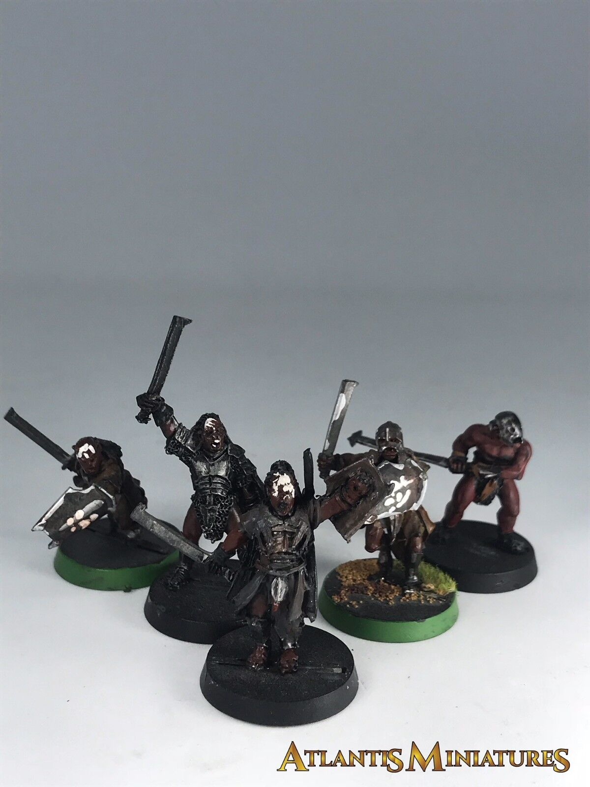 Metal Uruk Hai Bundle x5 - OOP - LOTR   Warhammer   Lord of the Rings P3