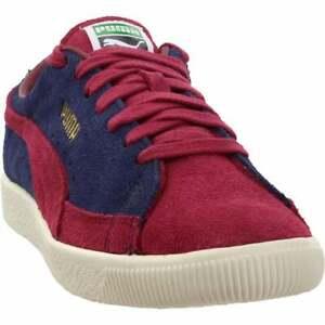 puma suede 90681 vintage lace up mens sneakers shoes