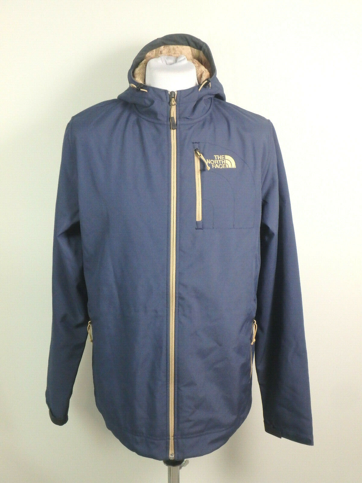 The North Face #31561 Outdoorjacke Jacke Kapuze Outdoor Herren Gr. L Blau