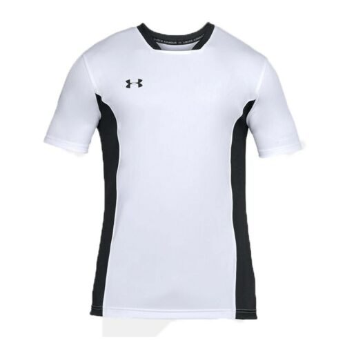 Under Armour Football Challenger Mens T Shirt Sports Training Top White