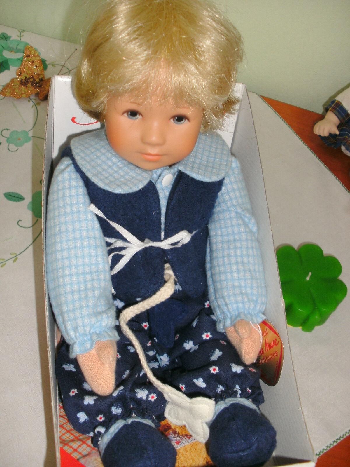 Künstler Puppe  Theolino  ca. von 2000 unbespielt Käthe Kruse Neu; OVP