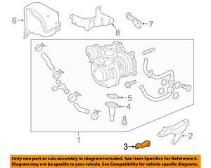 subaru oem 02 14 impreza turbo turbocharger stay bracket 14427aa022 Subaru Turbo Intercooler Diagram image is loading subaru oem 02 14 impreza turbo turbocharger stay