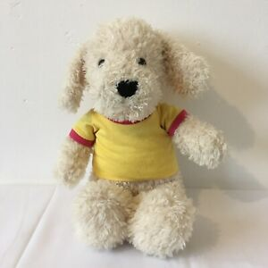 Chad-Valley-Design-A-Bear-Cream-Puppy-Dog-Plush-Soft-Toy-Height-15-inches
