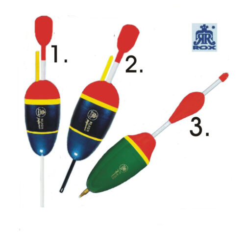 Rox Wallerpose Hechtpose Welspose Schwimmer Pose 50,80,110 Gramm Top Sonderpreis