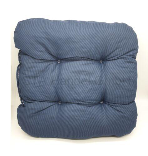 2 x Kissenbezug Kissenhüllen Sitzauflage Polsterbezug Sitzkissen Gartenmöbel Set