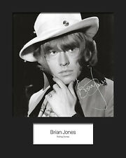 BRIAN JONES #2 (Rolling Stones) Signed 10x8 Mounted Photo Print - FREE DELIVERY