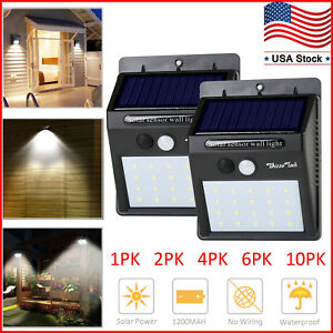 Solar-Lights-Motion-Sensor-Wall-Light-Outdoor-Waterproof-Garden-Yard-Lamp-20-LED