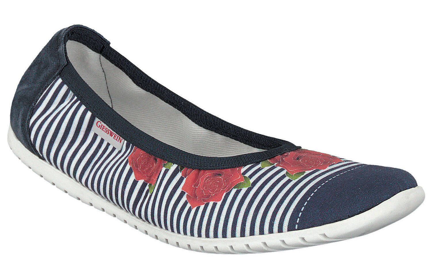 Giesswein 48290 48290 48290 deinstedt casa zapatos bailarinas algodón Print talla 36 - 42 nuevo  ventas de salida