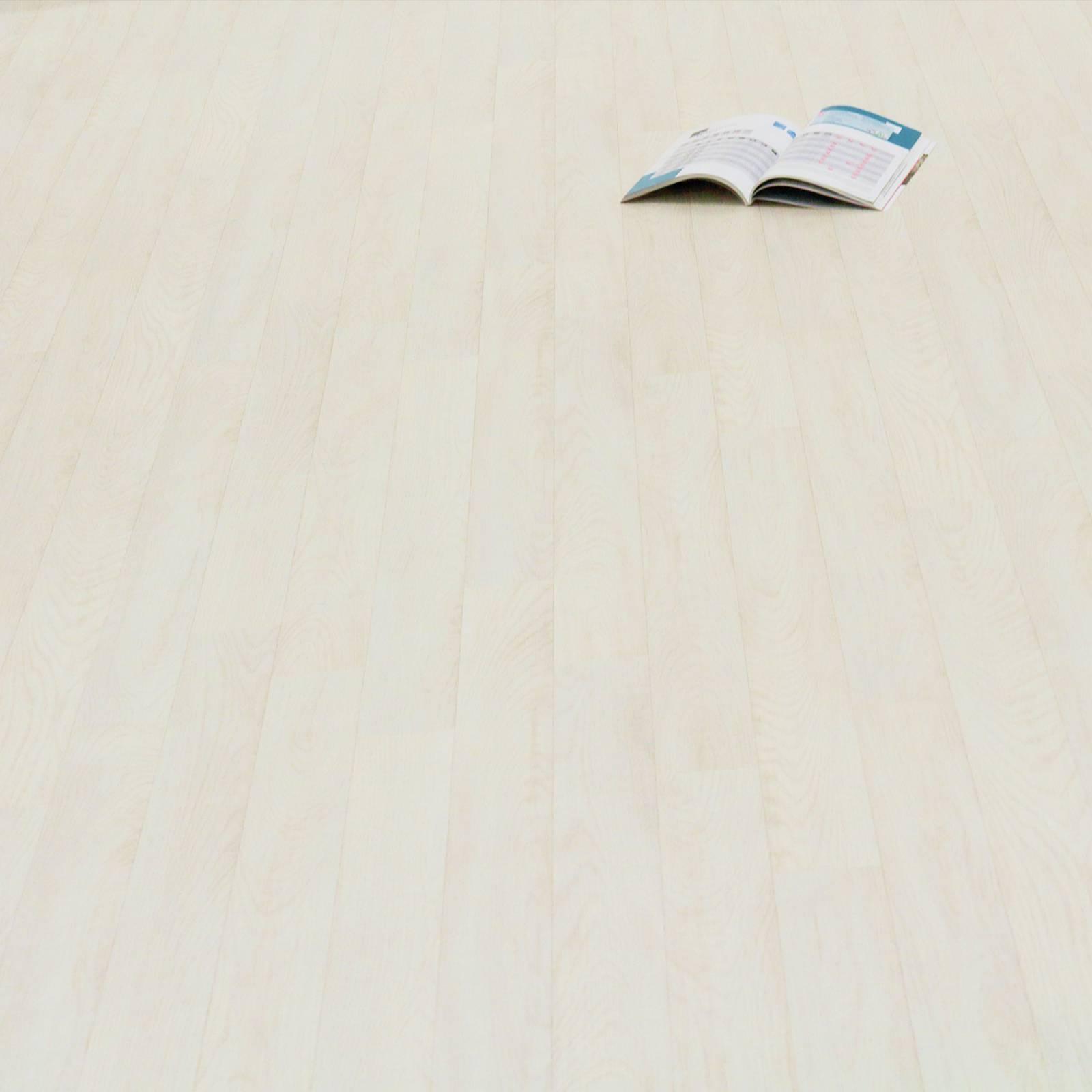 PVC Bodenbelag Holz Planken Weiss Gekalkt CV Vinyl Breite 2 m (  m²)