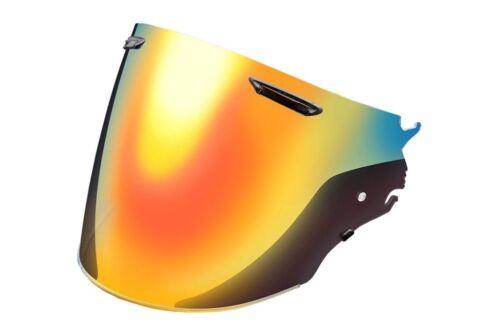 Arai VAS-Z Red-Mirror//Semi-Smoke Shield VZ-Ram SZ-R VAS