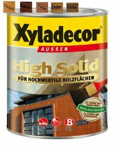 €5/L Xyladecor Holzschutzlasur 5 Liter Eiche High Solid BEULE Dickschichtlasur
