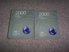 2000 Ford Focus Shop Service Repair Manual Set Sedan ZX3 LX SE ZTS 2.0L