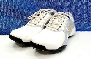 Details about Adidas AdiPrene Women's Golf Shoe White Purple Women's size 8.5