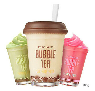 *Etude House* Bubble Tea Sleeping Pack 100g - Korea Cosmetic