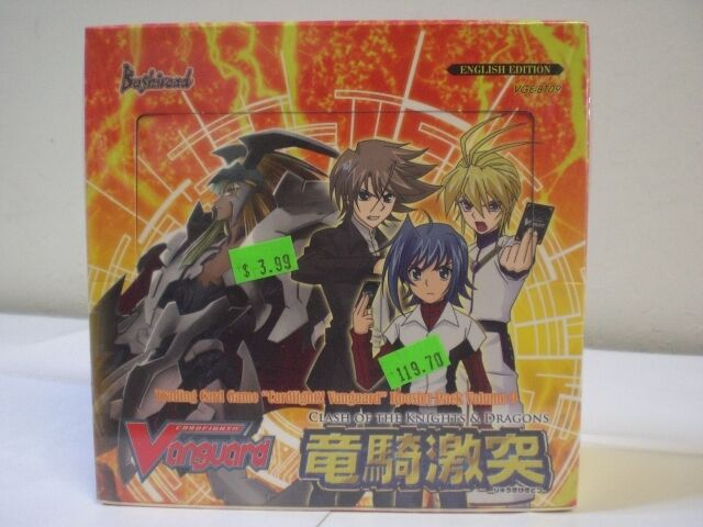 Cardfight Vanguard Clash of the Knights & Dragons Booster Box 09 New & Sealed