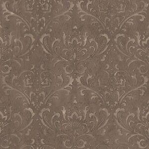 Essener-Papel-pintado-g45171-Steampunk-Barroco-clasico-marron-Ornamento-de-Pared