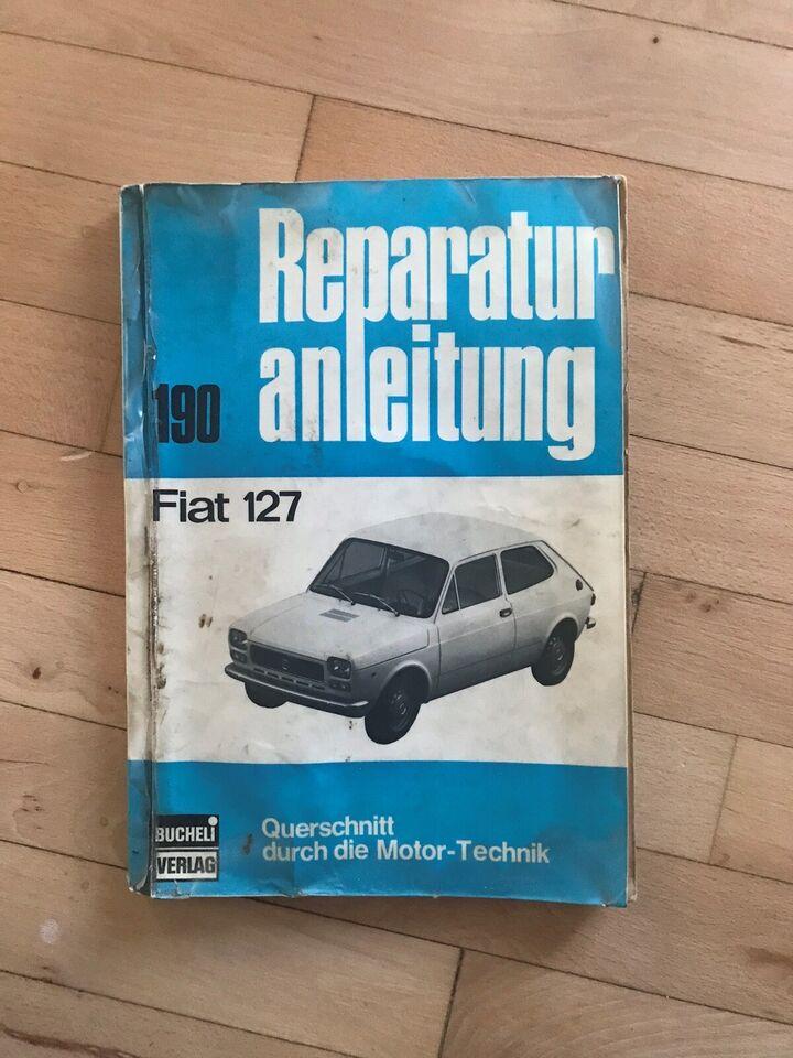 Værkstedshåndbog, Fiat 127 - tysk version