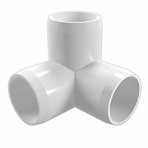 8 Pack 3 Way Elbow Tee Pvc Fitting 34 Size Pipe Connector Water