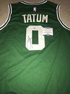 195c1f874ac Image is loading Jayson-Tatum-Signed-Autographed-Boston-Celtics-Jersey -Beckett-