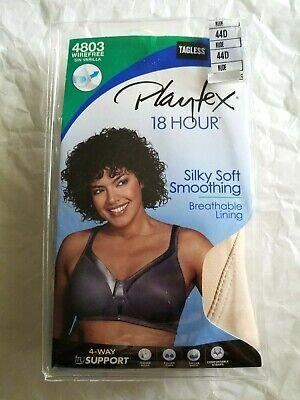 Playtex 18 Hour Silky Soft Smoothing Women/'s Bra Assorted Sizes New 4803