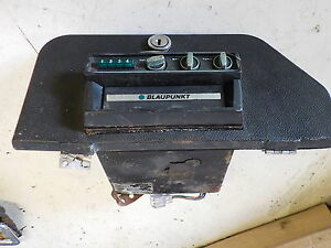BLAUPUNKT-8-TRACK-PLAYER-9-404-230-018-FITTED-IN-JAGUAR-E-TYPE-GLOVE-BOX-LID