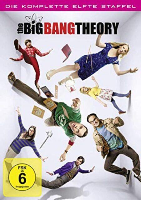 The Big Bang Theory Staffel 11 Neu und Originalverpackt 2 DVDs
