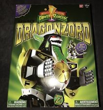 NEW BANDAI Legacy Green Dragonzord Diecast Figure Mighty Morphin Power Rangers