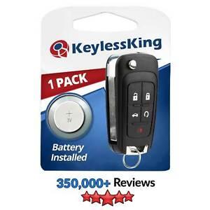 Remote Flip Key Fob for 2010 2011 2012 2013 2014 2015 2016 Chevy Cruze